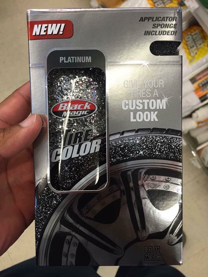 Any try Tire Glitter ? LOL