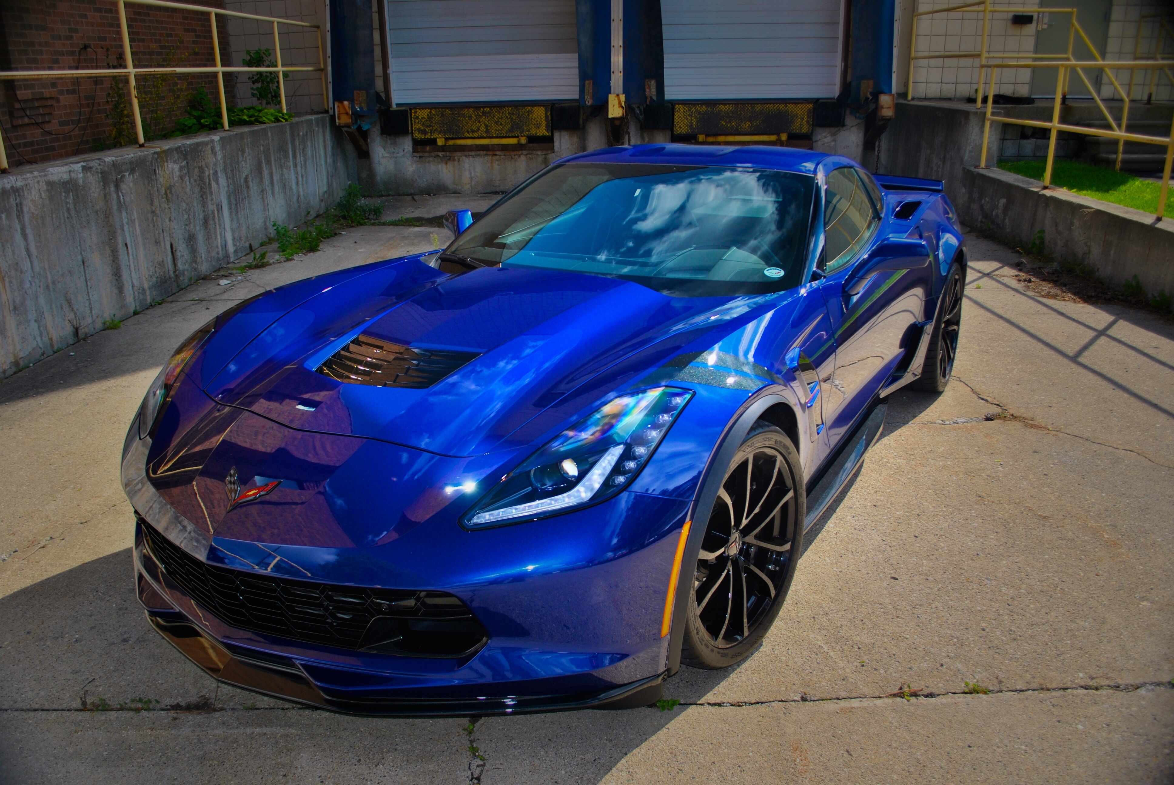 2018 Corvette Grand Sport >> Our Admiral Blue Grand Sport