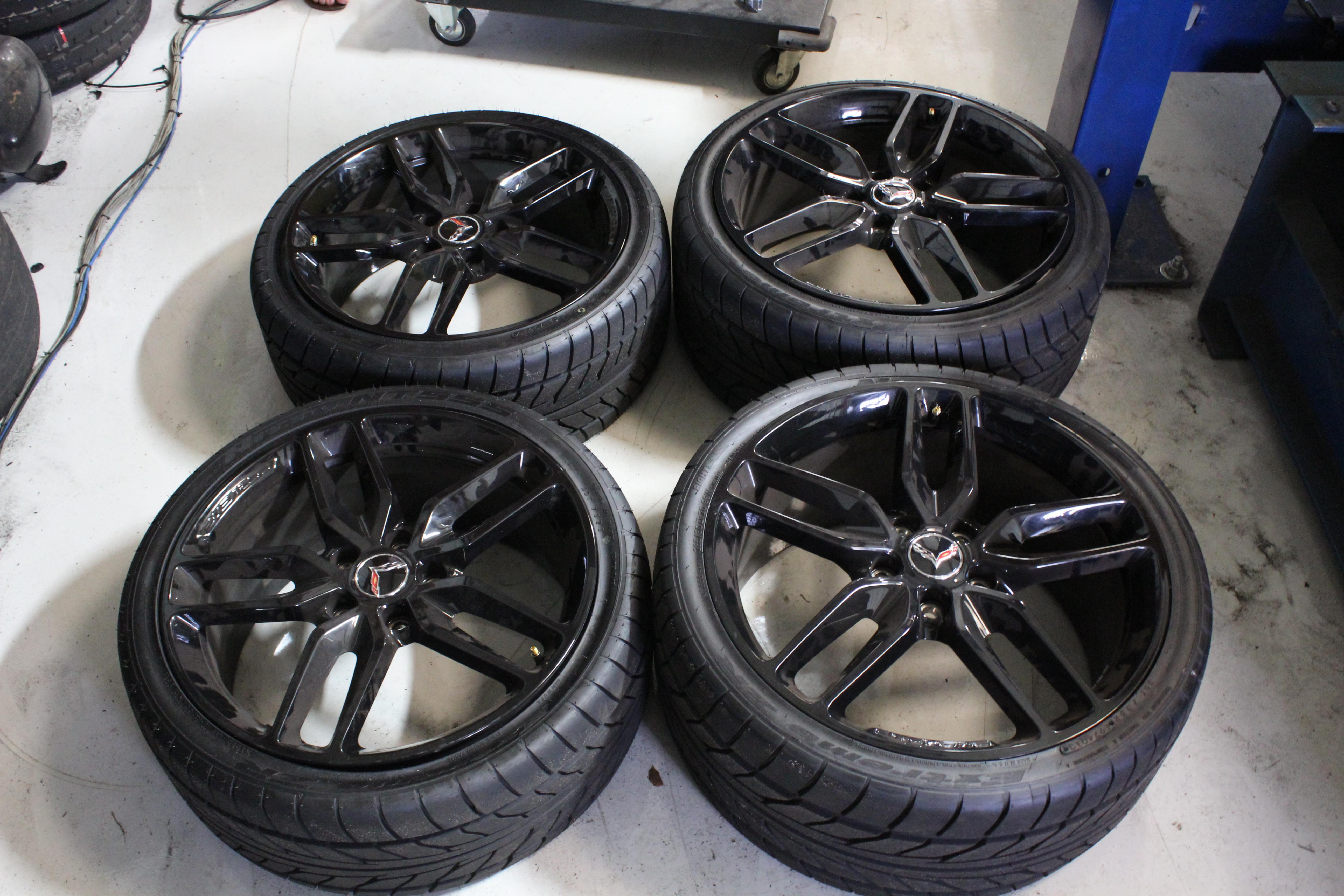2014 15 Corvette Z51 Wheels Amp Tires