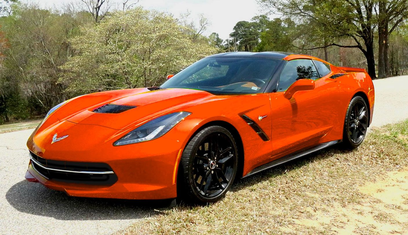 Sebring Orange Tintcoat - New 2018 Corvette Color Option