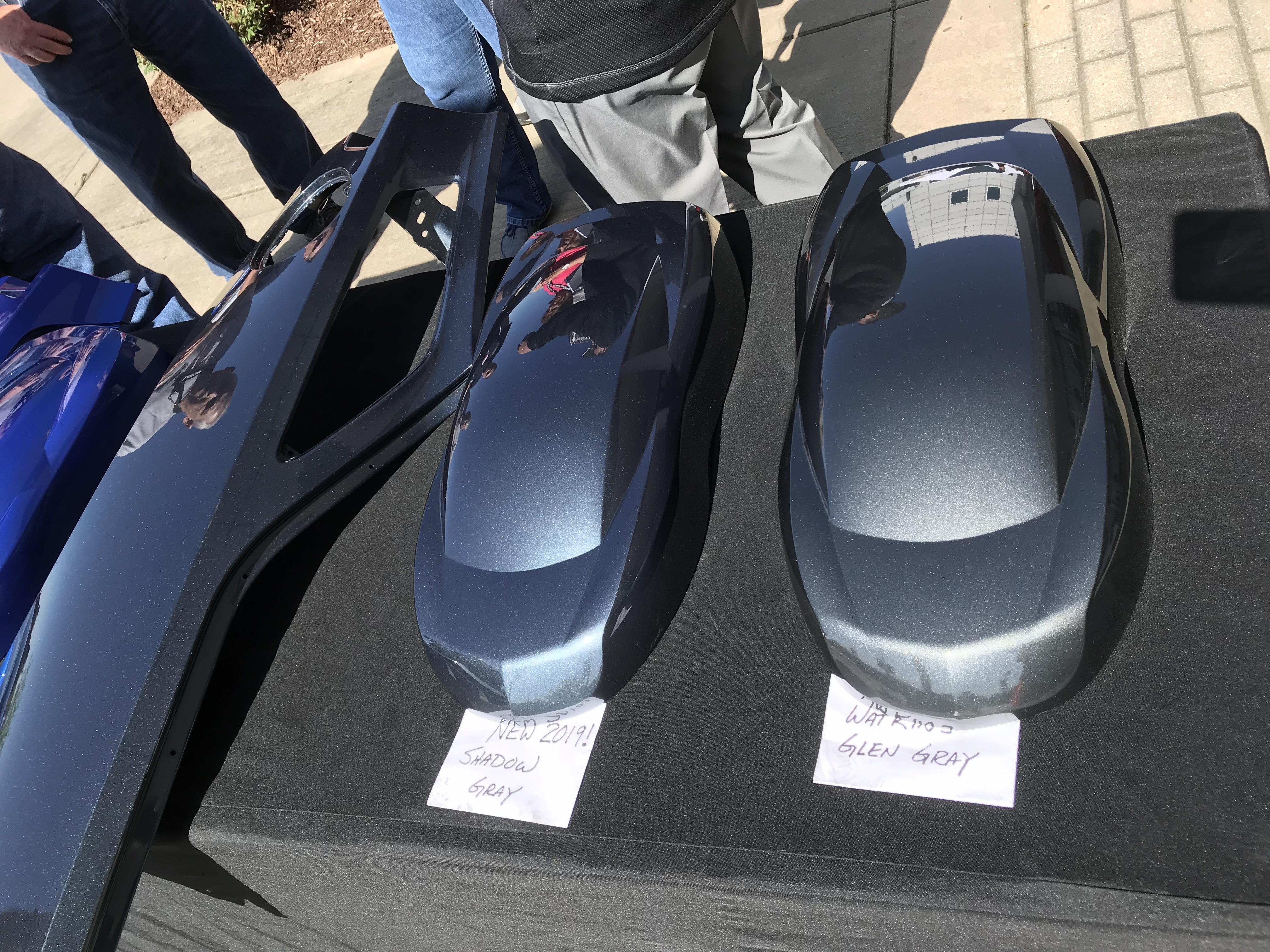 National Corvette Museum >> Shadow Gray & Watkins Glen Gray Comparison Photos (Plus