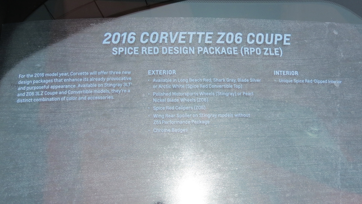 name img_4649jpg views 868 size 6611 - 2016 Corvette Stingray And Z06 Spice Red Design Package