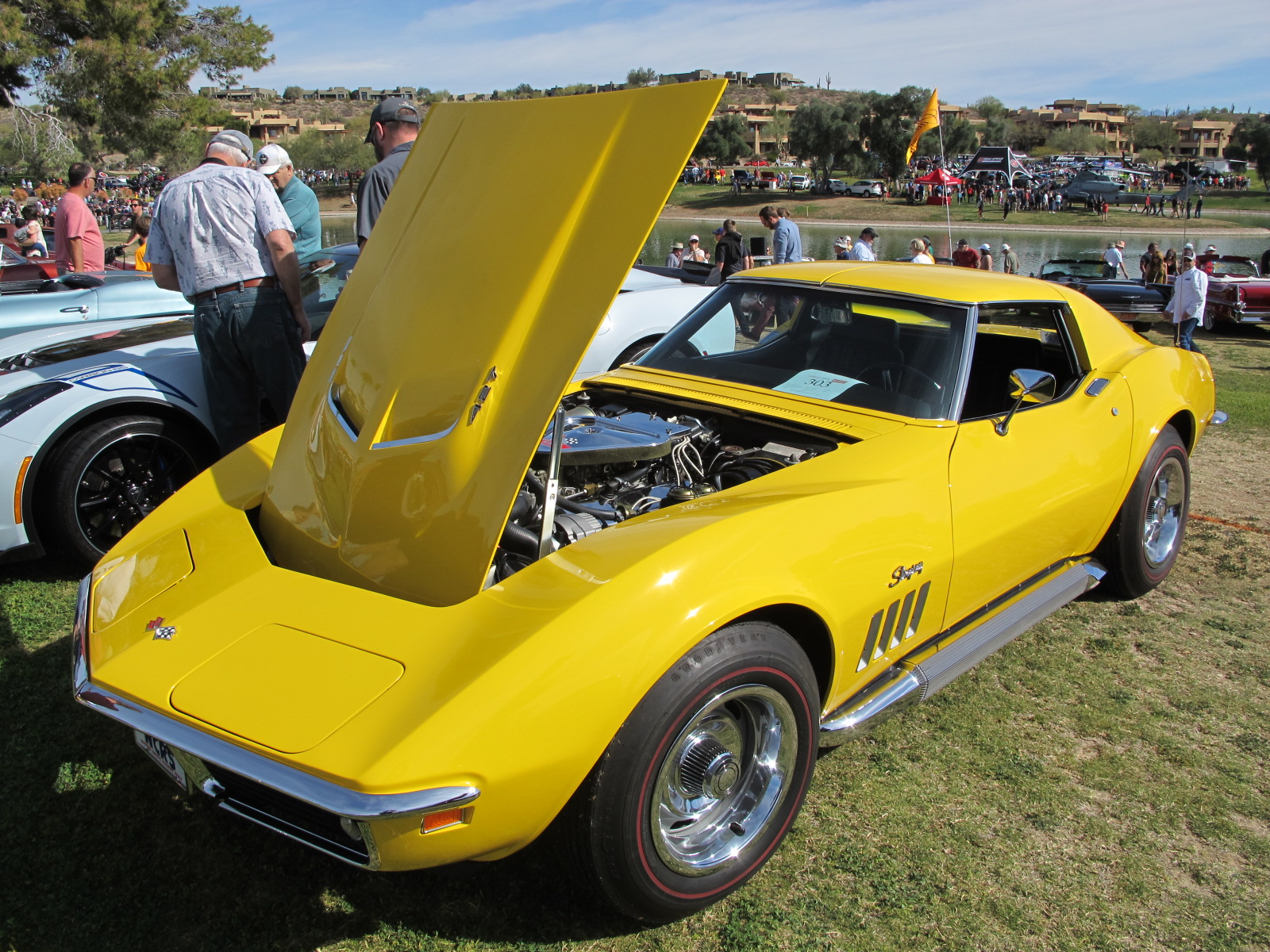 Concours In The Hills Fountain Hills Arizona Pictures - Fountain hills car show