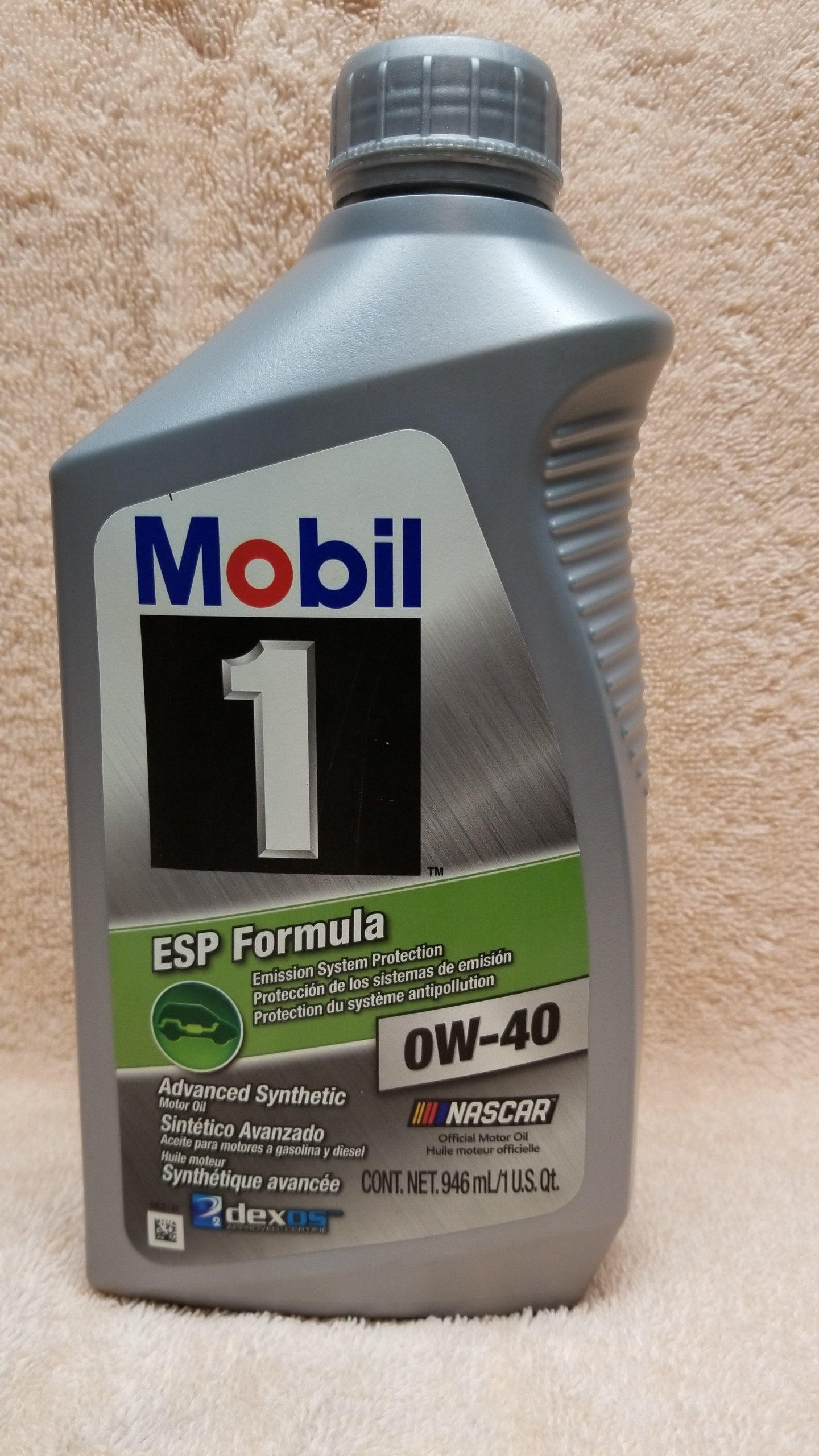 Mobil 1 Oil Change >> Part # for the new Dexos 0W-40 oil