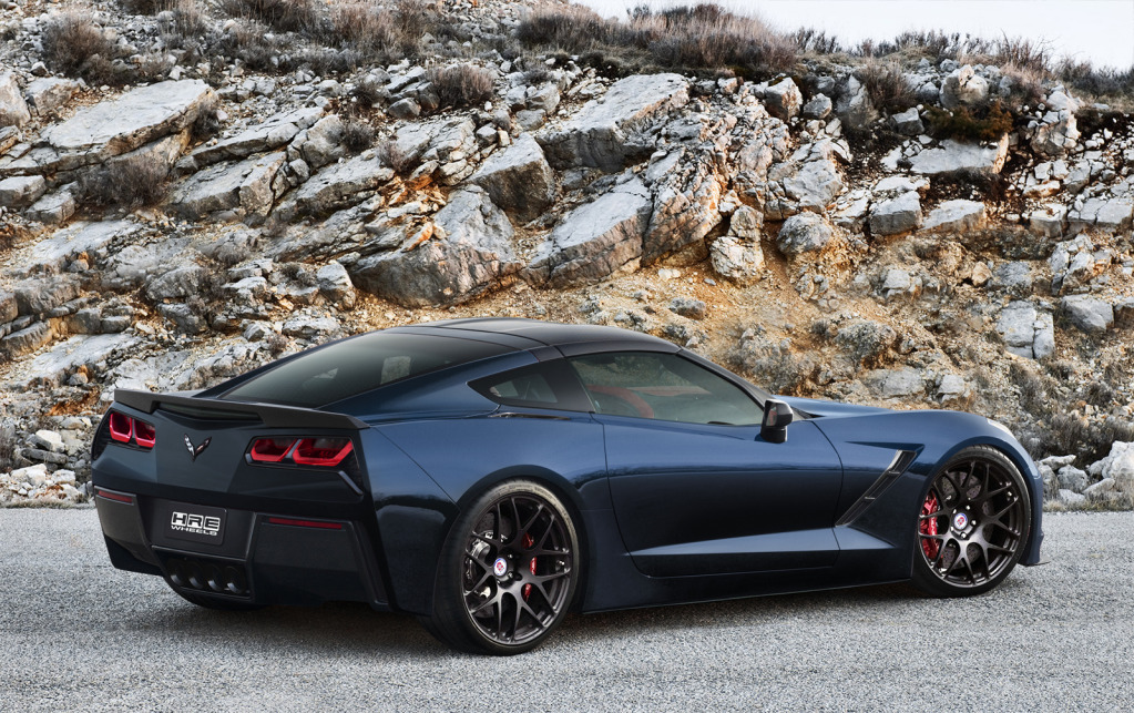 2014 Corvette Stingray Night Race Blue