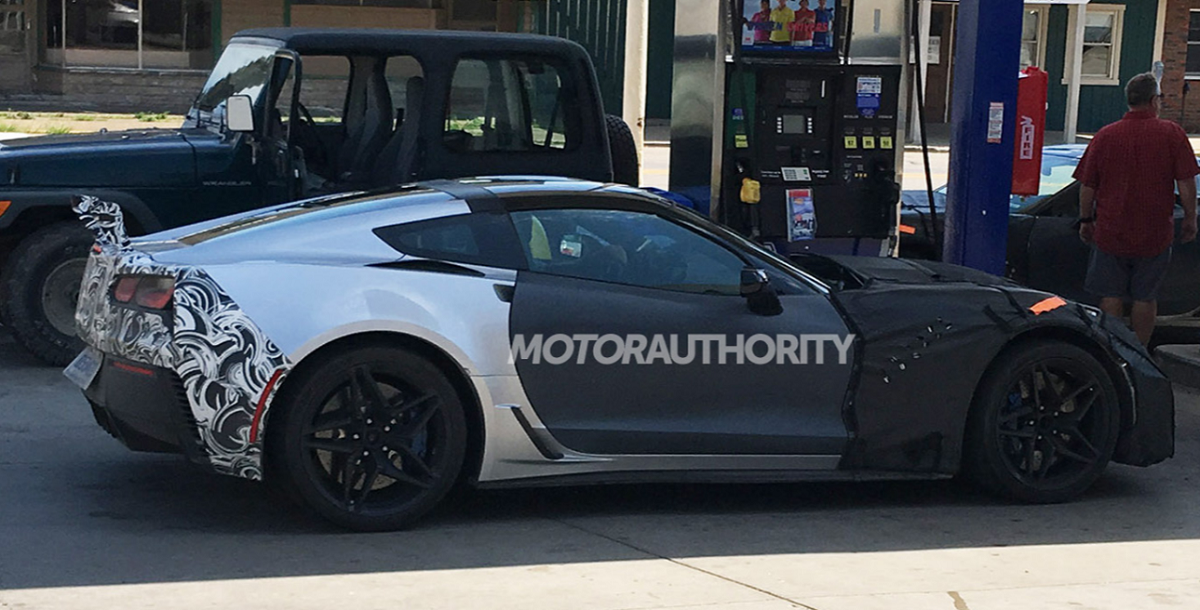 more photos of the zr1 z06x prototypes on the street. Cars Review. Best American Auto & Cars Review