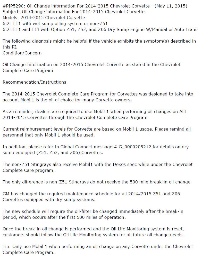 Oil Change Mobil 1