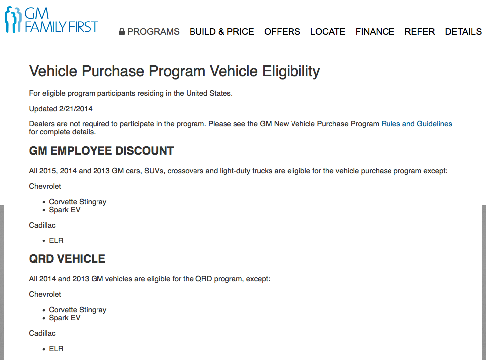 Looks like Employee AND Supplier pricing is now available.