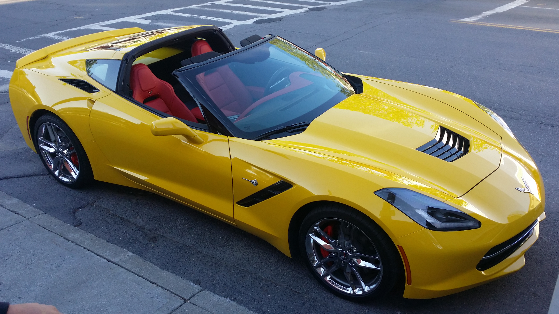 what you think of the best interior color for velocity yellow page 2