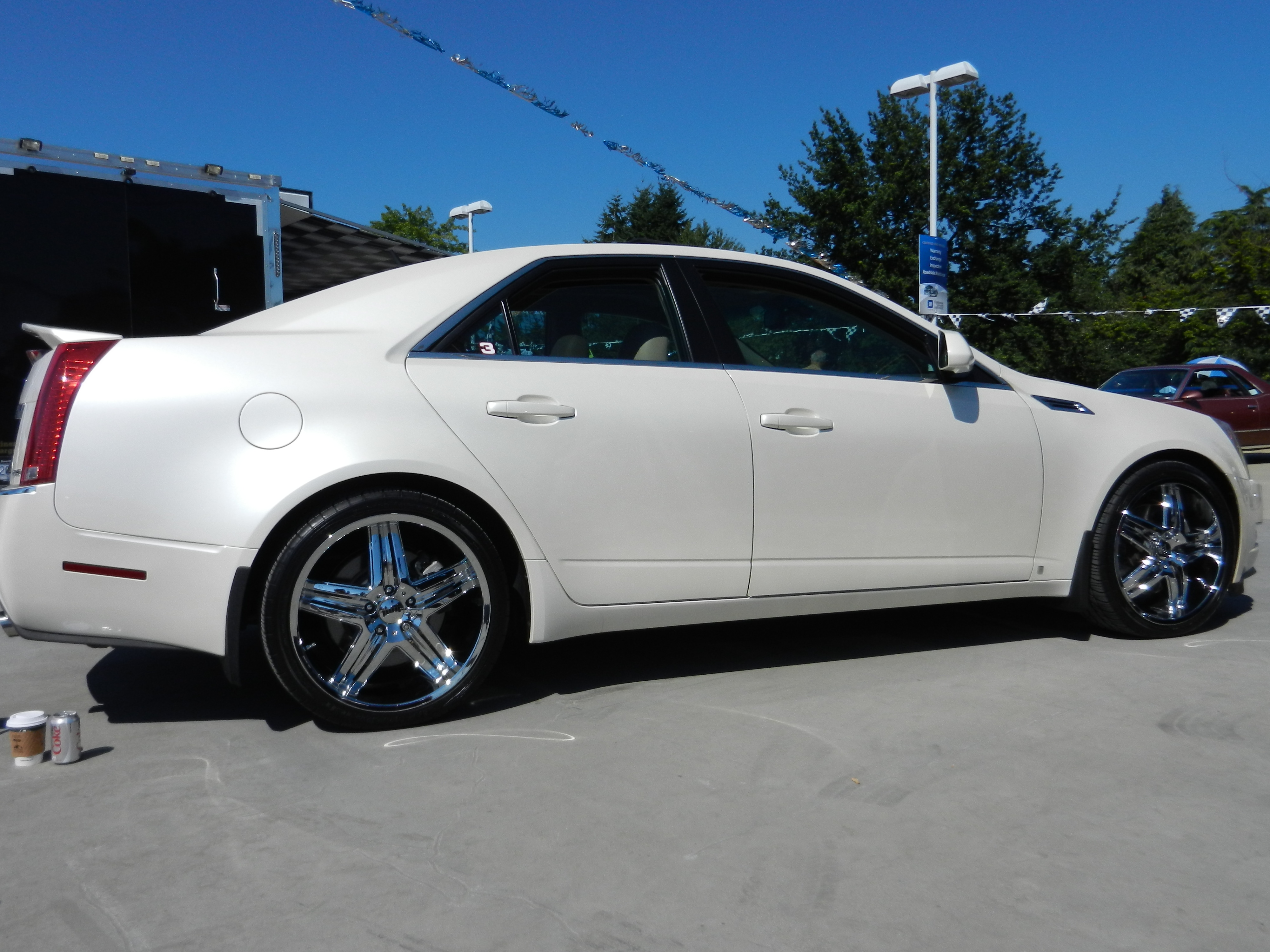 Camaro 20 Inch Winter Tires D New Cadillac Ct Show Shine Aug