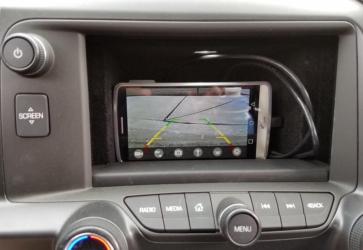 [How To] Inexpensive Front Parking Camera