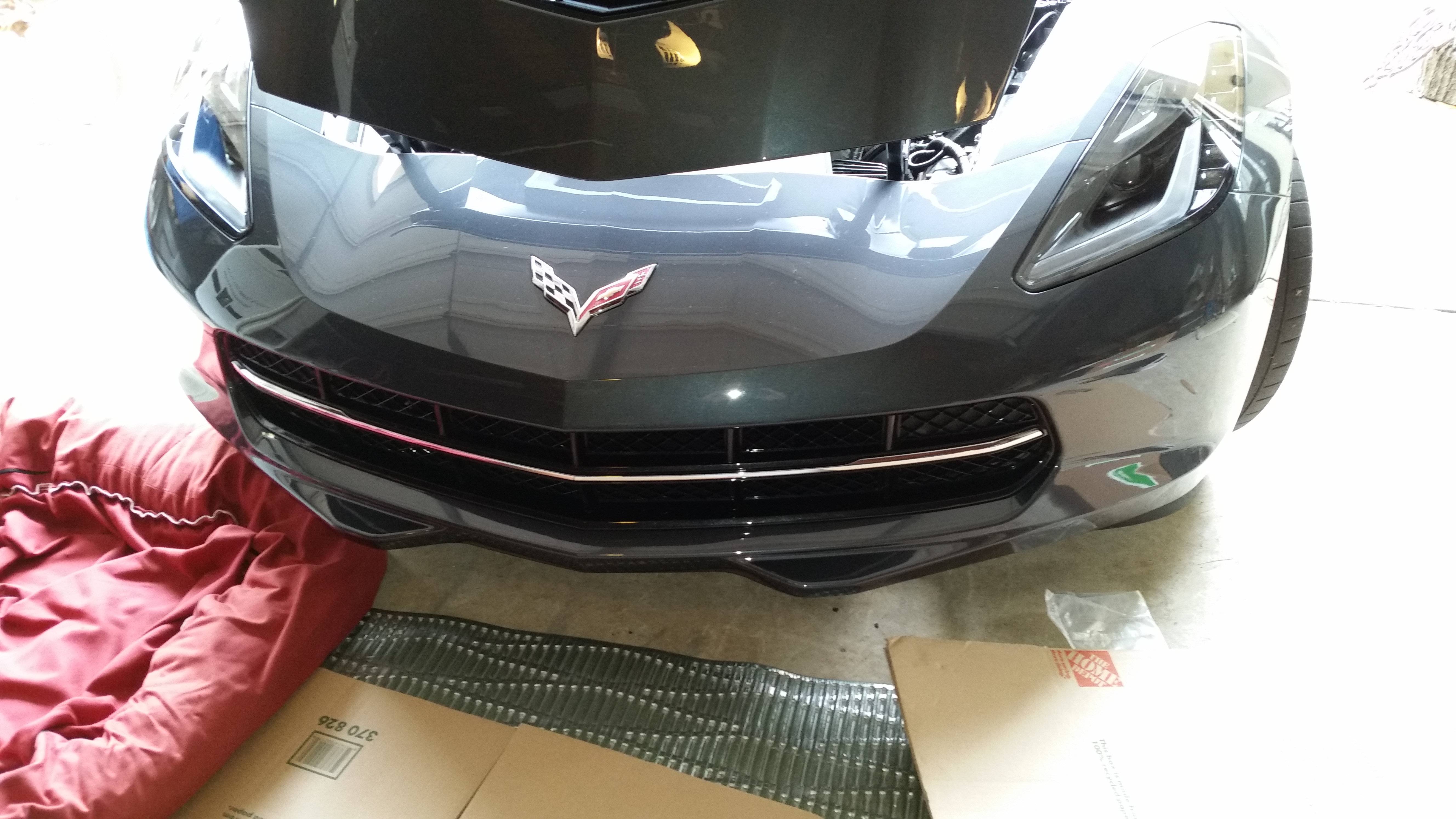 2014 Corvette Diy Bumper Cover And Grille Removal Video