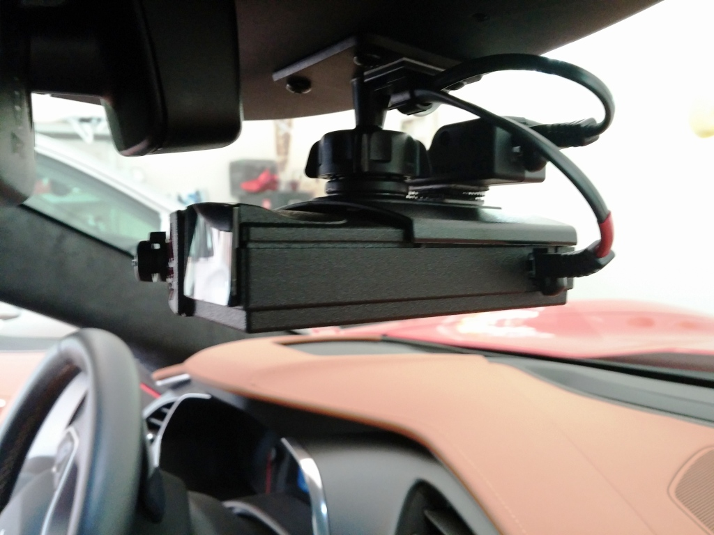 26369d1430010901 how mount v1 radar detector v1 connection bluetooth module using mirror power v1 mounted car3 how to mount v1 radar detector and v1 connection bluetooth module BlendMount Radar Detector Mount at sewacar.co