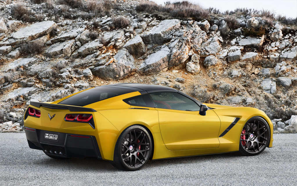Stingray Corvette Renderings With Hre Wheels All Color Options