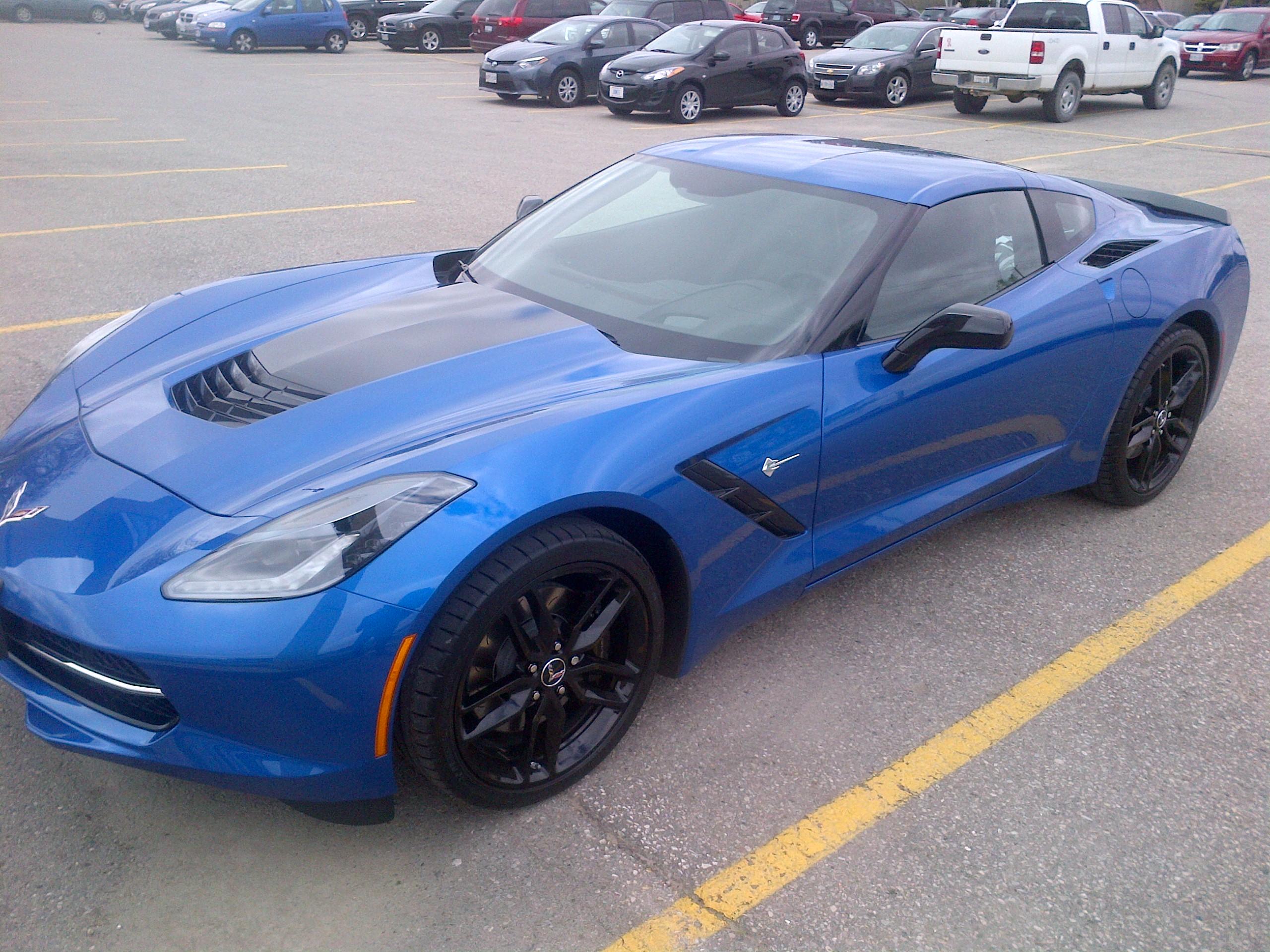 wonderful corvette stingray black wheels aratorn sport cars. Black Bedroom Furniture Sets. Home Design Ideas