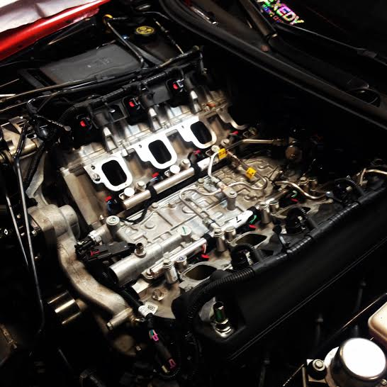 Cam install on 15 Z06 - Lashway Motorsports