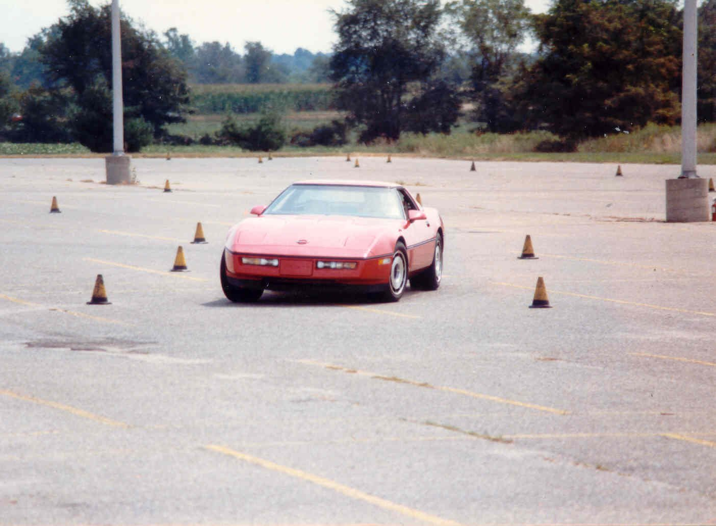 Me in the '84 Z51 during an autocross